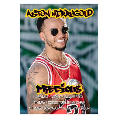Aston Merrygold Exclusive Precious Tour Poster