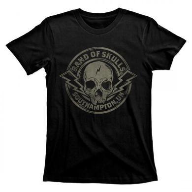 Band Of Skulls Biker Logo T-Shirt