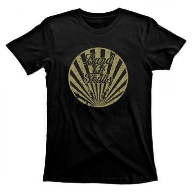 Band Of Skulls Gold Circle T-Shirt