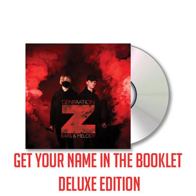 BARS & MELODY Generation Z Deluxe (Signed) (Get Your Name In The Book) Deluxe CD