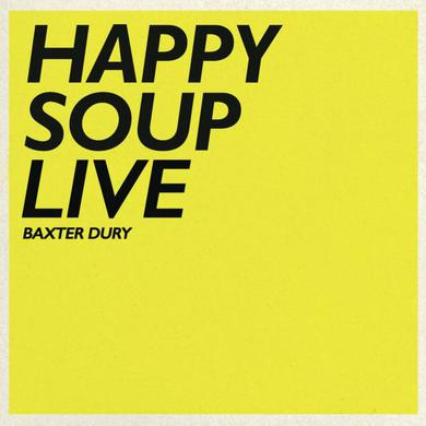 Baxter Dury Happy Soup Live CD Album (Signed) CD