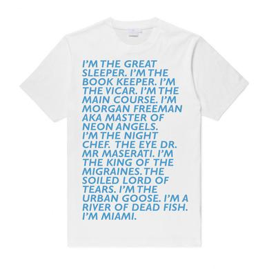 Baxter Dury Miami Verse (Blue On White) (Shop Exclusive)