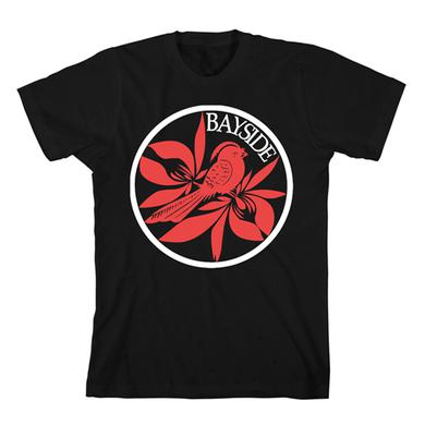 Bayside Circle Red Bird T-Shirt