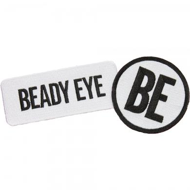 Beady Eye Black and White logo patches