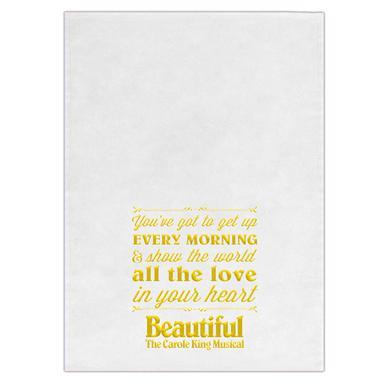 Beautiful In London Beautiful tea Towel