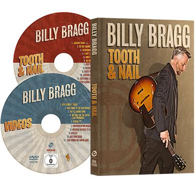 Billy Bragg Tooth & Nail (+DVD) ***Exclusive SIGNED Print*** CD/DVD