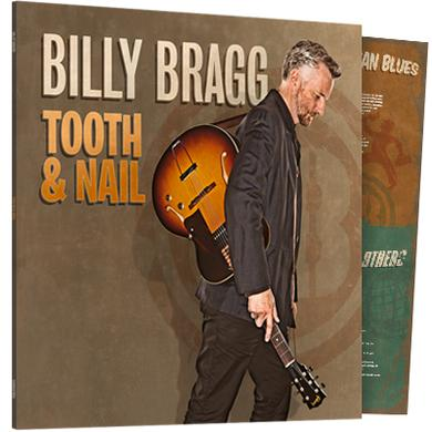Billy Bragg Tooth & Nail (180g Heavyweight LP) ***Exclusive SIGNED Print*** Heavyweight LP (Vinyl)