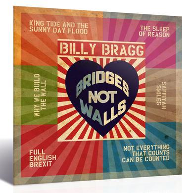 Billy Bragg Bridges Not Walls CD CD