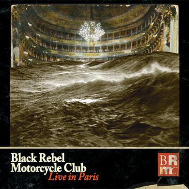 Black Rebel Motorcycle Club Live In Paris 3LP + DVD Triple Heavyweight LP