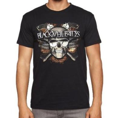 Black Veil Brides Skull Men's T-shirt Black
