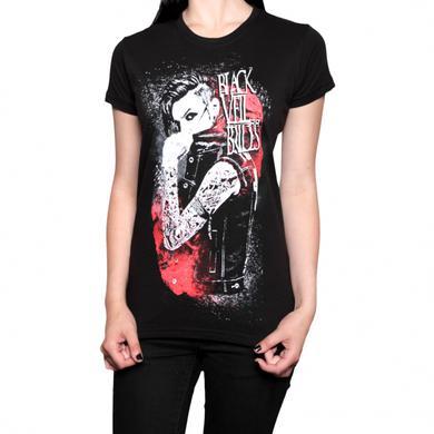 Black Veil Brides Inferno Girls T-Shirt Black