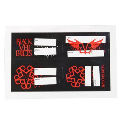 Black Veil Brides BVB Gift Tags
