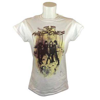 Black Veil Brides Wild Ones Ladies White T-Shirt