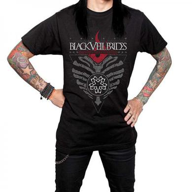 Black Veil Brides Burning Heart Guys T-Shirt