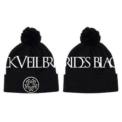 Black Veil Brides 2015 Pentagram Woven Bobble Hat