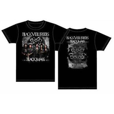 Black Veil Brides 2015 Black Mass Tour T-Shirt