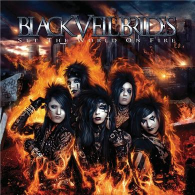 Black Veil Brides Set the World on Fire CD