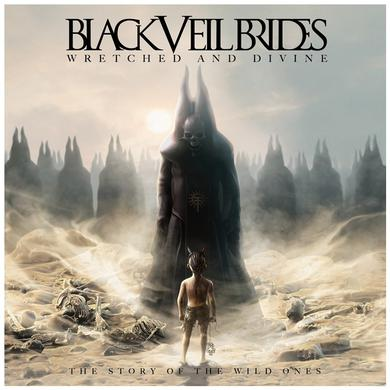 Black Veil Brides Wretched & Divine  CD