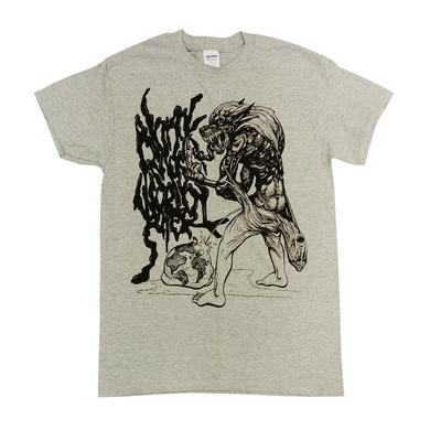 Blanck Mass Grey Animated T-Shirt