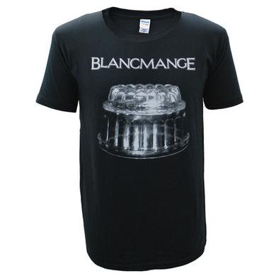 Blancmange Mens Black Blanc Glass T-Shirt