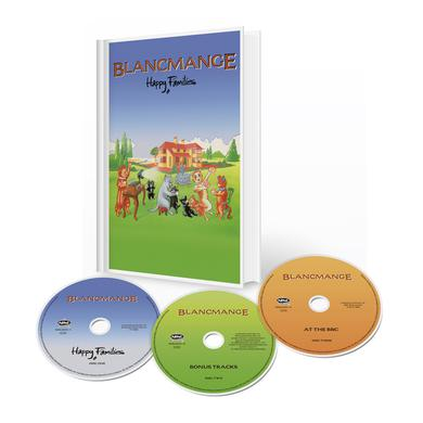 Blancmange Happy Families Deluxe 3CD Media Book Edition CD Collector's Pack