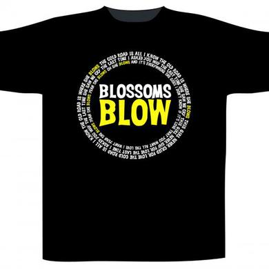 Blossoms - Blow Black T-shirt