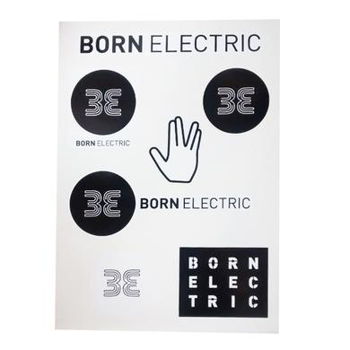 Born Electric Sticker Set