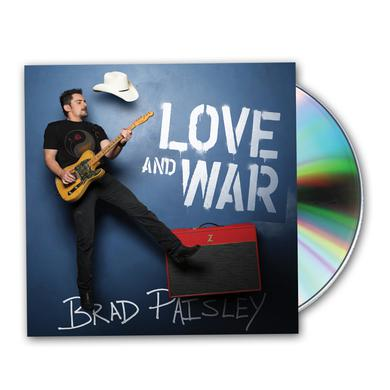 Brad Paisley Love And War CD Album CD