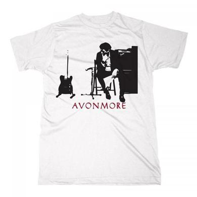 Bryan Ferry Avonmore Silhouette White T-Shirt