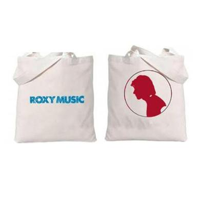 Bryan Ferry Silhouette Canvas Tote Bag