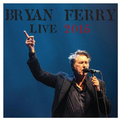 Bryan Ferry Live 2015 2CD Album Deluxe CD