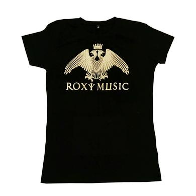 Bryan Ferry Eagle Crest Ladies Black T-Shirt
