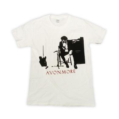 Bryan Ferry Avonmore 2014 European Tour Studio White T-Shirt (w/ Dates)