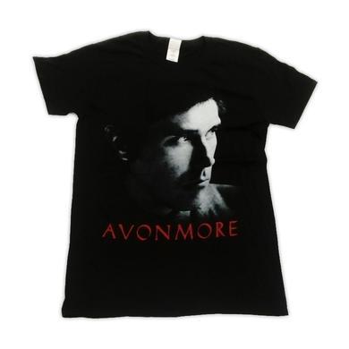 Bryan Ferry Avonmore 2014 European Tour Album Black T-Shirt (w/ Dates)