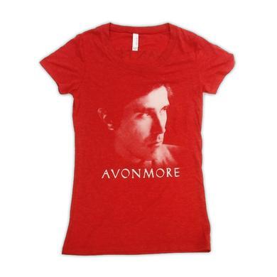 Bryan Ferry Avonmore Red Ladies T-Shirt