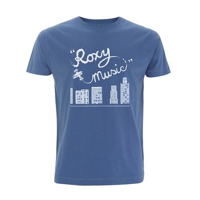Bryan Ferry Plane Faded Denim T-Shirt