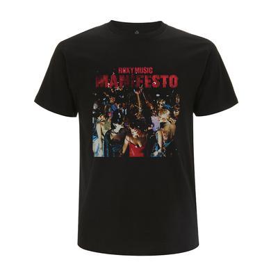 Bryan Ferry Manifesto Black T-Shirt