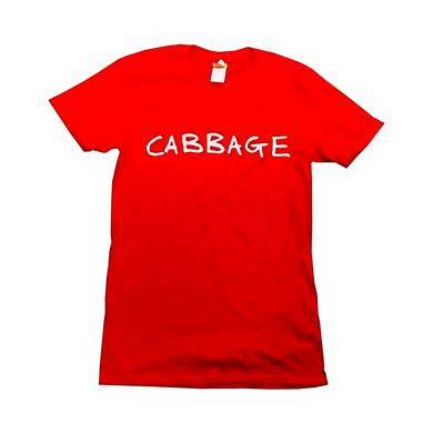 Cabbage Red Logo T-Shirt