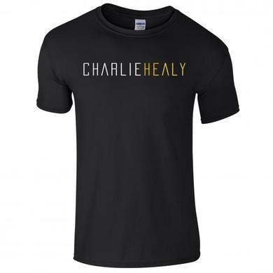 Charlie Healy Black Logo T-Shirt