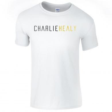 Charlie Healy White Logo T-Shirt