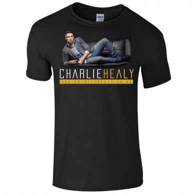 Charlie Healy Artwork Black T-Shirt