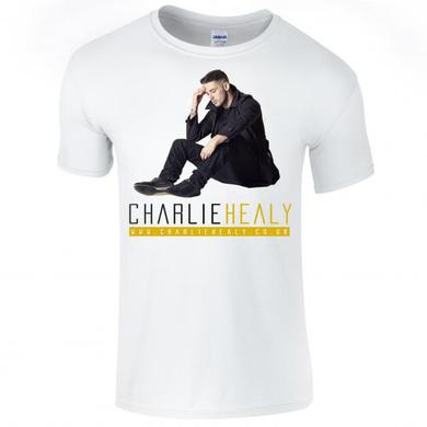 Charlie Healy White Artwork T-Shirt