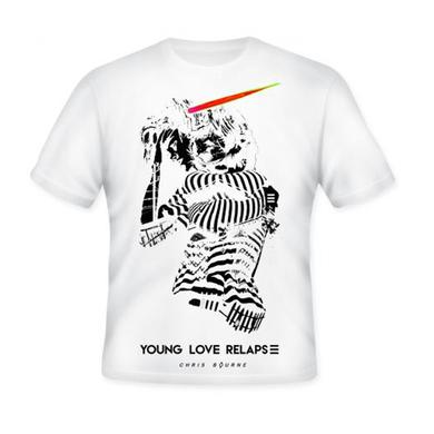 Chris Bourne White T-Shirt
