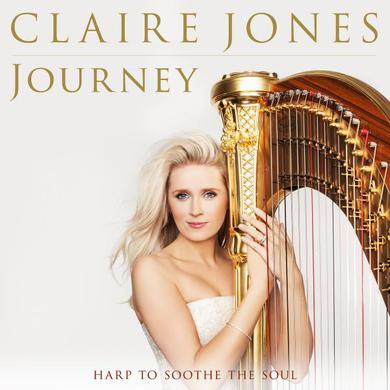 Claire Jones Journey: Harp to Soothe the Soul (Signed) CD