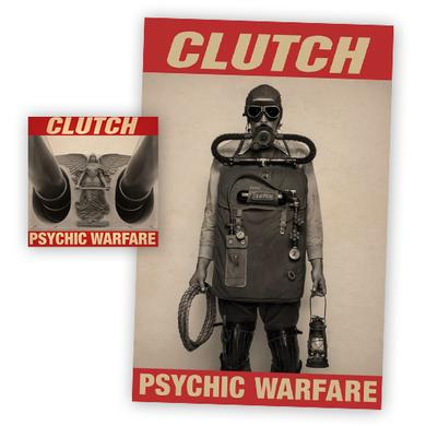 Clutch Psychic Warfare CD Album + Poster CD