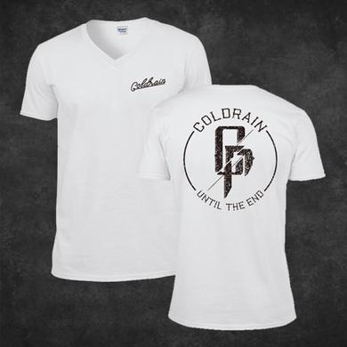 coldrain Until The End White T-Shirt