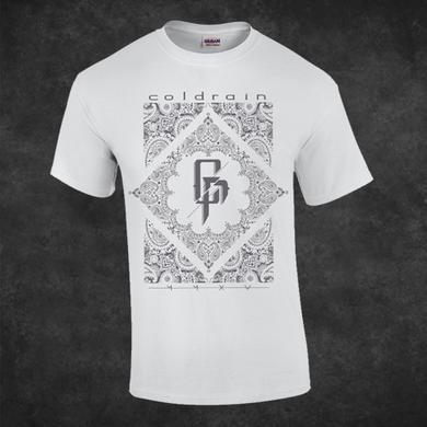 coldrain Paisley White T-Shirt