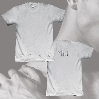 coldrain Vena Fundamental White T-Shirt