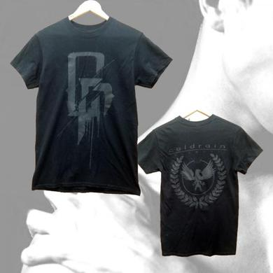 coldrain Black VENA Army T-Shirt