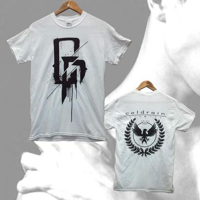 coldrain White VENA Army T-Shirt